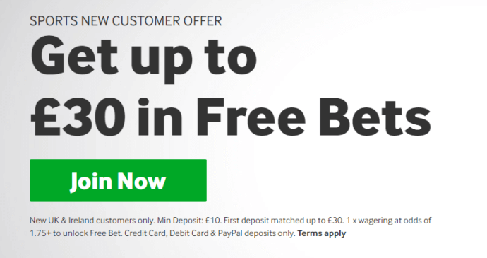 Betway Sports Welcome Offer